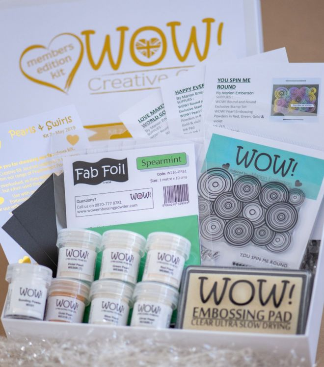 WOW!  Creative Club - Kit 7 (Launched May 2019) - Pearls and Swirls